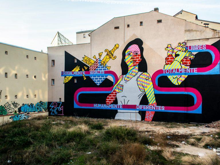 Guía de arte urbano en Madrid